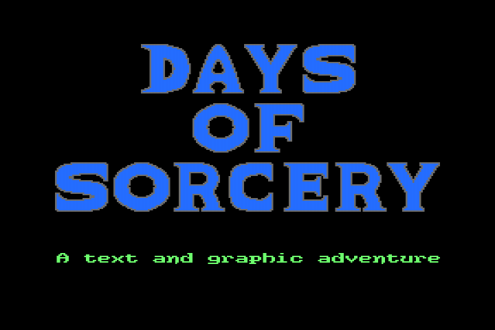Days of Sorcery title image